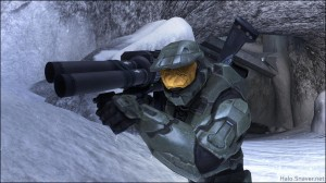 Master Chief Rockets Snow Thumbnail