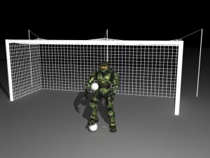 Master Chief Football! Thumbnail