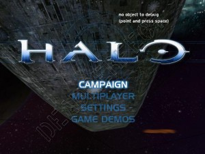 Halo 1 Main Menu Xbox debug Mode Thumbnail