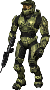 Master Chief with Battle Rifle Thumbnail