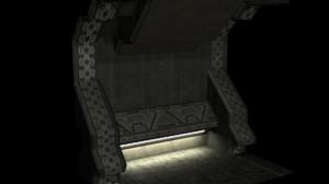 Heretic Hallway Custom Model + UV Map Thumbnail