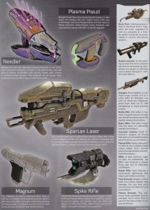 Halo 3 Beta Weapons from the Gamepro Magazine Issue 226/July 07  Halo Weapons