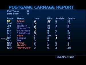 Halo 1 postgame carnage report (i'm mrc abc) Thumbnail